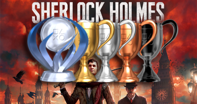 Platine Sherlock Holmes The Devil's Daughter