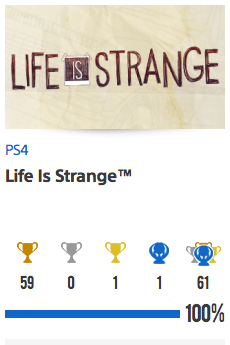 Platine Life Is Strange