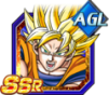 Dokkan Battle SSR Son Goku ssj