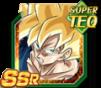 Dokkan Battle SSR TEQ Son Goku ssj