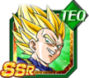 Dokkan Battle SSR TEQ Vegeta ssj