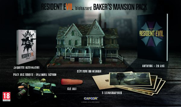 Resident Evil 7 Mansion's Baker Pack