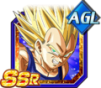 Dokkan Battle SSR Vegeta SSJ2 AGI