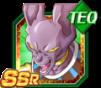 Dokkan Battle SSR Beerus TEC