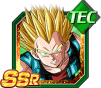 Dokkan Battle SSR Vegeta SSJ GT TEC