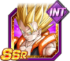 Dokkan Battle SSR Super Gogeta INT