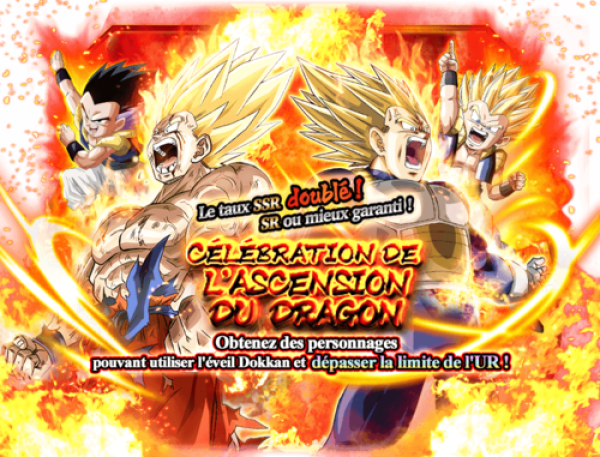 Dokkan Battle Portail Ascension du dragon