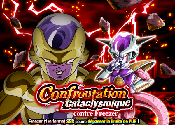 Dokkan Battle Confrontation Cataclysmique contre Freezer