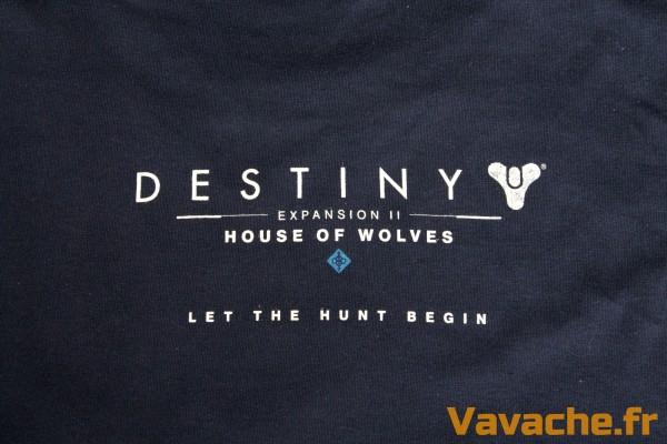 T-shirt Destiny La Maison des Loups