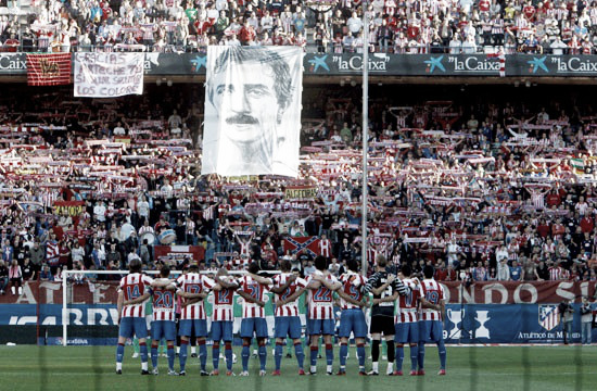 Arteche juega con 55 años el derbi en el Vicente Calderón