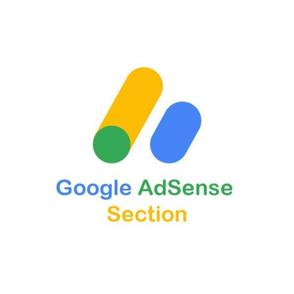 Google AdSense Section