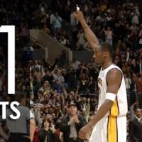 22 Gennaio 2006: 10 anni fa gli 81 punti di Kobe Bryant contro i Toronto Raptors
