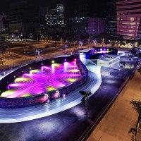 """#Nike presenta il primo """"LED running track"""" al mondo"""