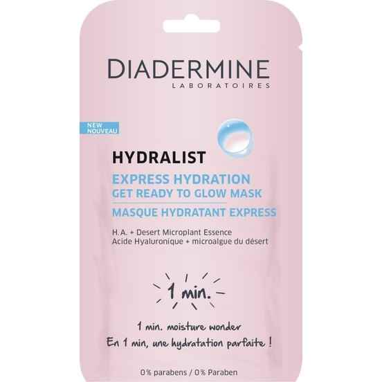 Diadermine Hydralist Express Hydration - Get Ready To Glow Cilt Maskesi 8 Ml
