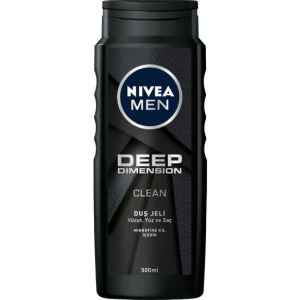 Nivea Men Deep Dımensıon Duş Jeli 500 Ml