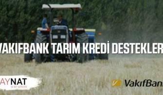 Vakıfbank Tarım Kredi Destek Paketleri