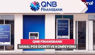 QNB Finansbank Sanal POS Ücreti ve Komisyonu
