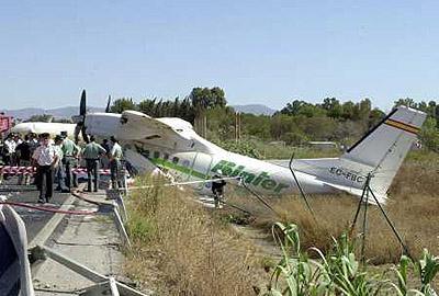 Accidente en Malaga 2001