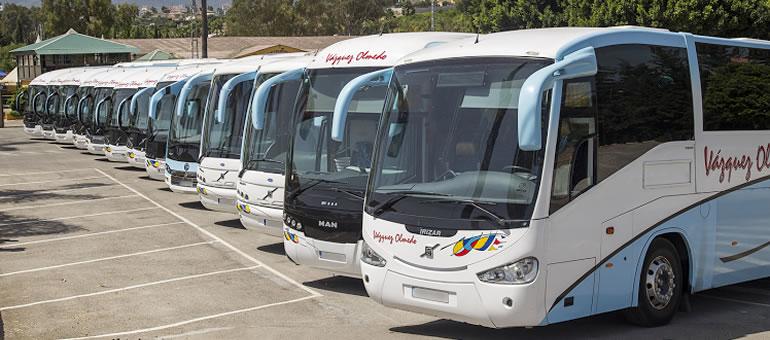 Flota Autocares Vázquez Olmedo