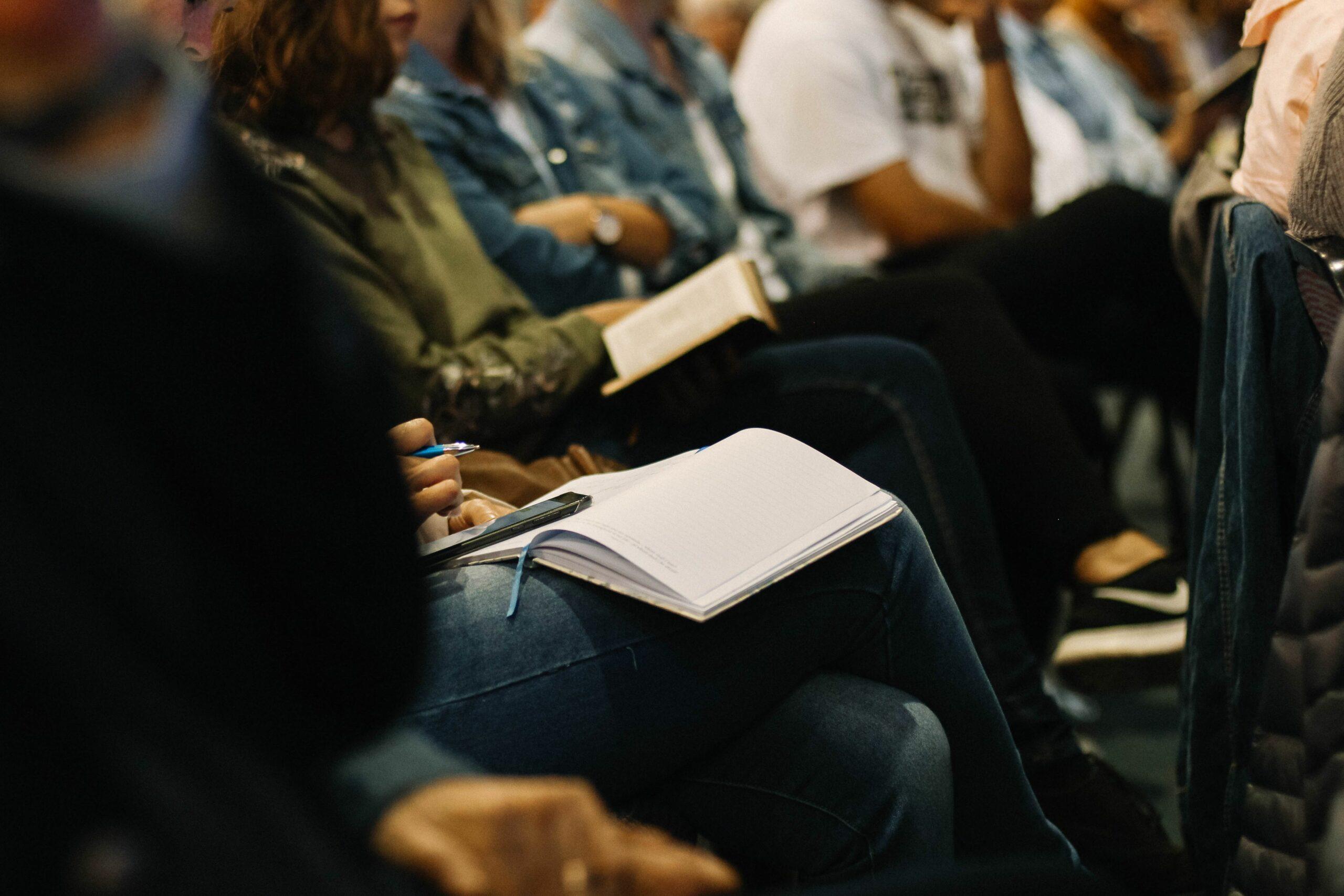People at Sermon
