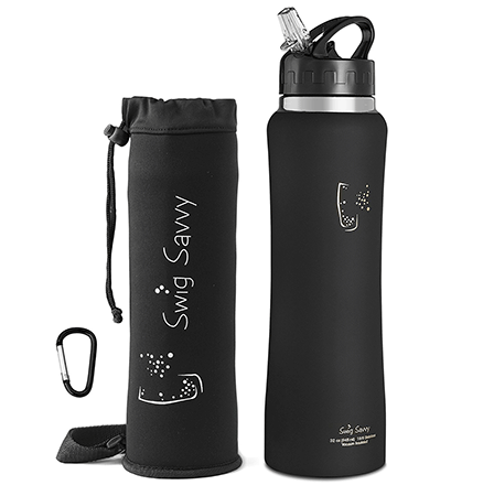 Swig Savvy Stainless Steel Insulated Water Bottle 32oz