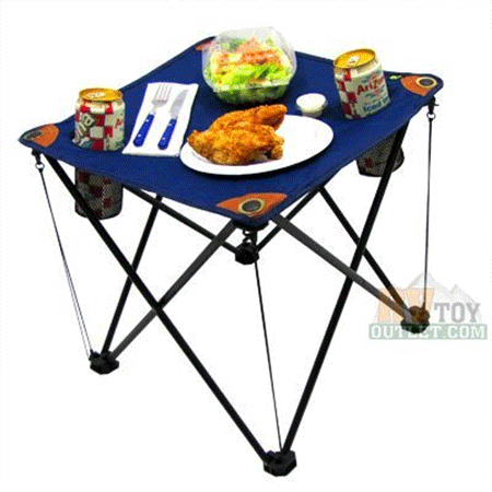 EZ Travel Collection Folding Camping Table