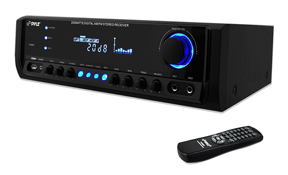Pyle PT390AU Digital Home Theater Stereo Receiver