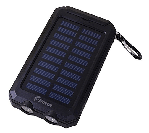 F.Dorla 20000mAh Power Bank Solar Charger