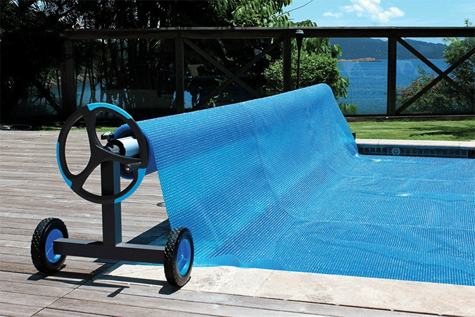 Kokido Alux Aluminum Swimming Pool Cover Reel