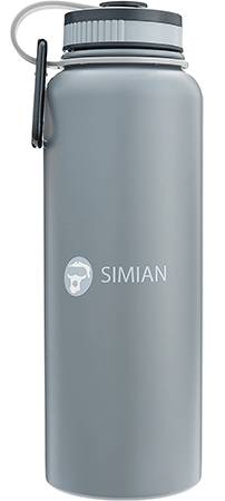Simian Insulated 40oz Water Bottle Flask for Ho