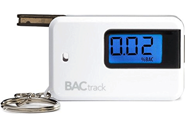 BACtrack Go Keychain Alcohol Tester