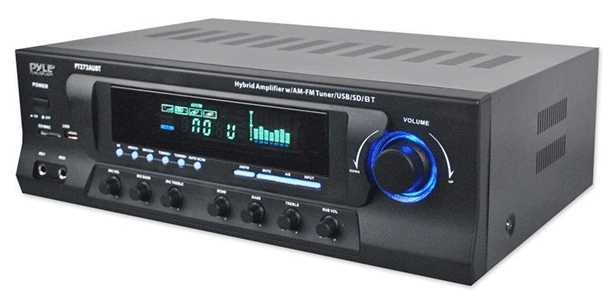Pyle Stereo Amplifier Receiver AM-FM Tuner