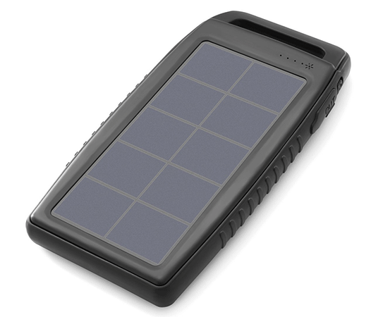 Nekteck Solar Charger 10000mAh Dual USB Port Portable Charger