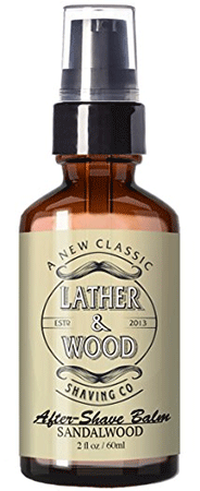 Lather and Wood Aftershave Lotion