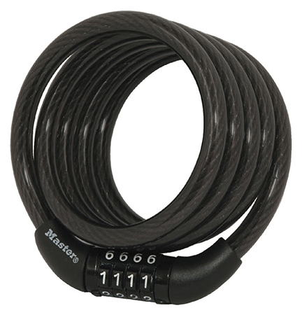 Master Lock Self-Coiling Cable Lock
