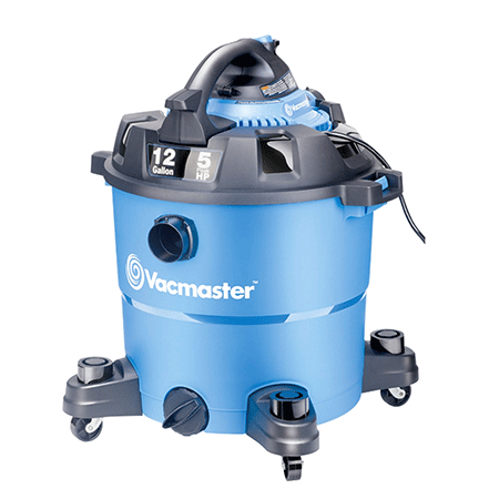 Vacmaster 12 Gallon, 5 Peak HP wet and dry