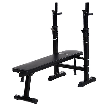 Goplus Adjustable Folding Weight Lifting Bench Incline