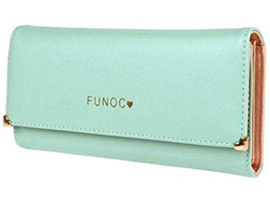 Synthetic Leather Women Wallet