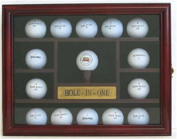GB04-CH E 15 Golf Ball Display Case