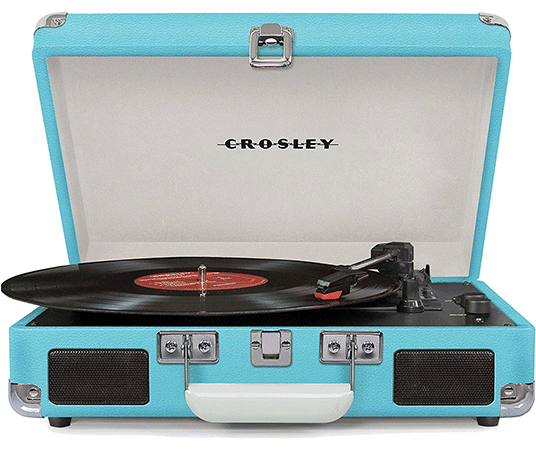 The Portable 3-Speed Turntable by Crosley