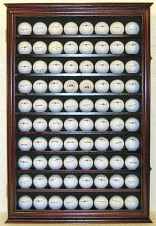 80 NoveltySouvenir Golf Ball Display Case