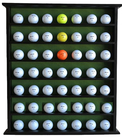 Gold Gift 49-Ball Display Rack