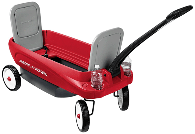 2-in-1 Journey Wagon by Radio Flyer