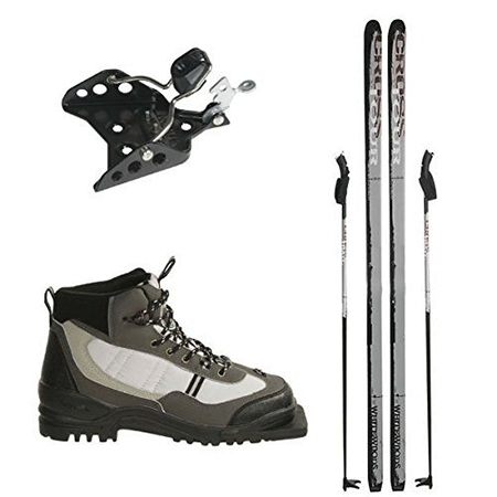 Whitewoods 75mm 3 Pin Cross Country Package Skis