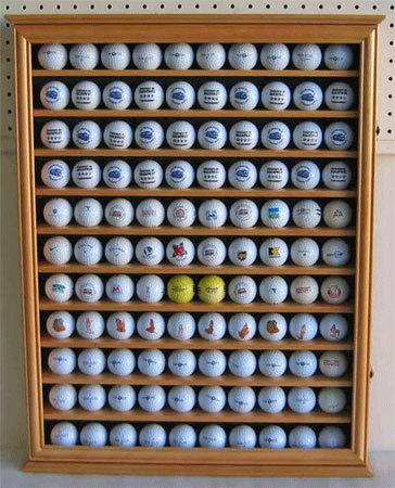 GBO5 110 Golf Ball Display Case