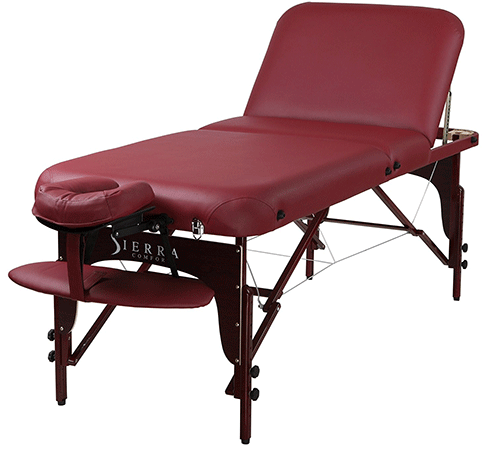 Sierracomfort Adjustable and Portable Massage Table