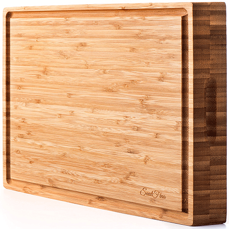 SoulFino Large Bamboo Cutting Board