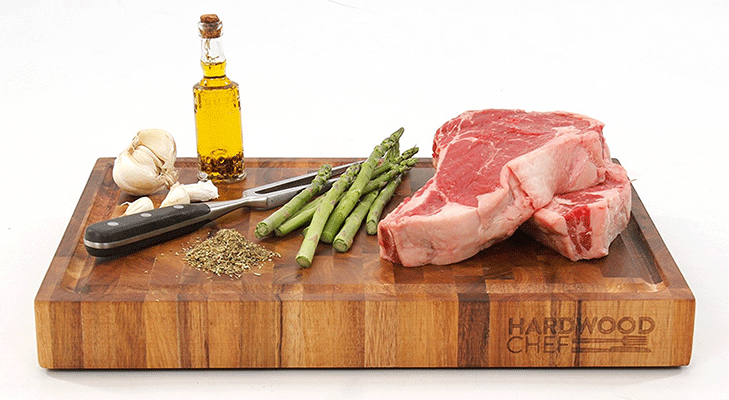 Hardwood Chef Premium Acacia Wood Butcher Block