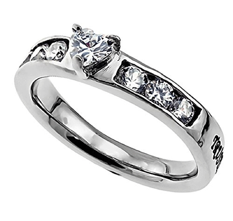 Prince Solitaire Chastity Ring
