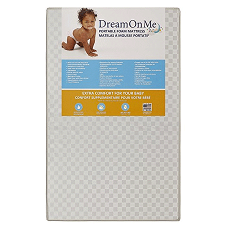 3 Portable Crib Mattress from Dream On Me